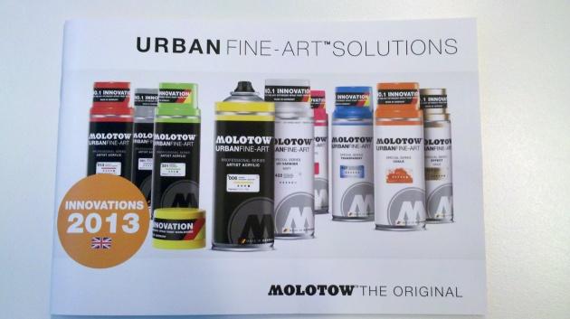 Molotow Spray Art