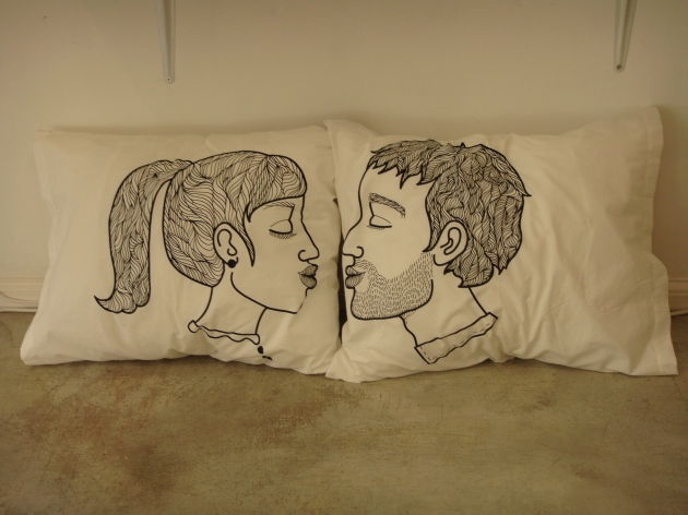 Kiss n Tell Pillows