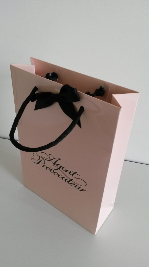 The Agent Provocateur goodie bag