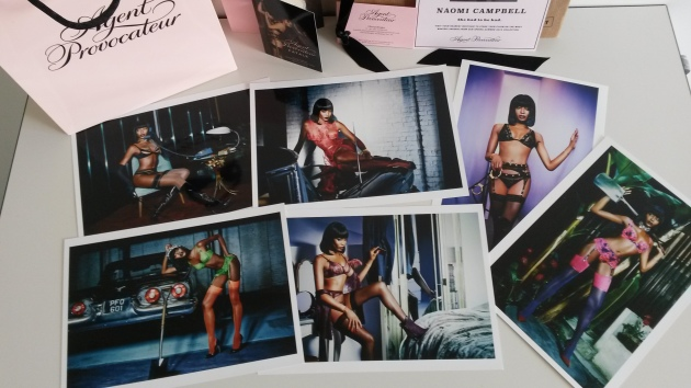 Naomi Campbell is the new face of Agent P.