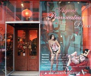 The original store in Broadwick Street.