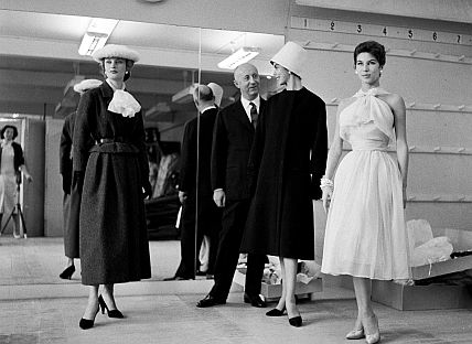France, Paris : Fashion designer Christian Dior