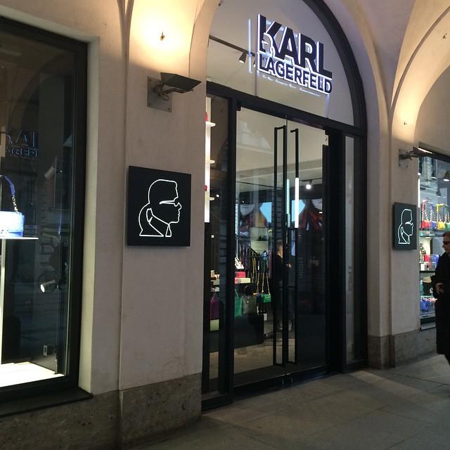 Lagerfeld Store Munich